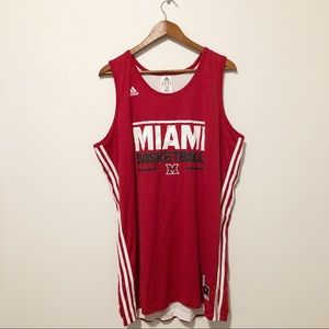 [ adidas ] • #33 Miami basketball jersey